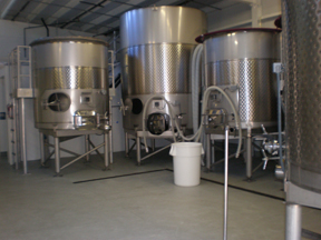 winery tank room